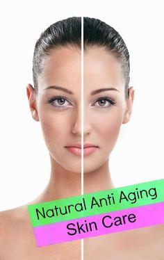 Natural Anti Aging Skin Care !!!
