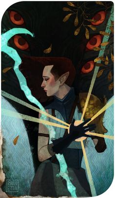 C: Estelle Lavellan by Ravietta on DeviantArt