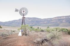 Jess & Josh's Stunning Flinders Ranges Outback Wedding This Australian outback wedding was just so amazing. The wedding photos embraced the natural beauty of the surrounding landscape (& of course the gorgeous couple!)
