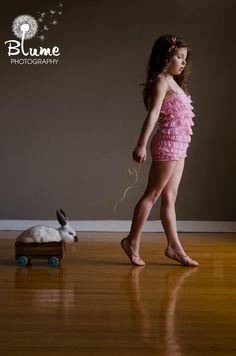 https://www.facebook.com/BlumePhotog  children photos vintage easter bunny ballet ballerina