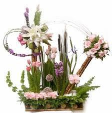 Mejores 293 Imagenes De Arreglos Florales Modernos En Pinterest En - Centros-florales-modernos