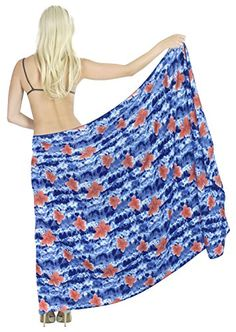 Sarong Bathing Suit Swimsuit Swimwear Beach Bikini Cover up Printed Pareo wrap Printed Inkjet Plus Size Spring Summer 2017 >>> Click image to review more details.  This link participates in Amazon Service LLC Associates Program, a program designed to let participant earn advertising fees by advertising and linking to Amazon.com.