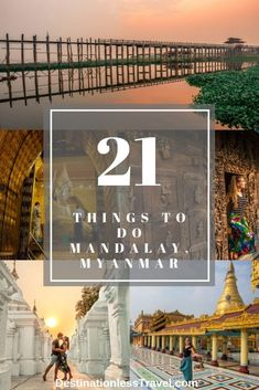 We explored Mandalay beyond the typical top 5 things tourists always do. So, here are 21 unique things to do in Mandalay, Myanmar. Mandalay, Myanmar Destinations, Travel Destinations, Myanmar Travel, Bali Travel, Laos, Stuff To Do, Things To Do, China Travel Guide