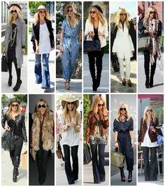 Rachel Zoe Style look da giorno.