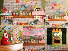 Incredible Yo Gabba Gabba birthday party!  See more party ideas at CatchMyParty.com!