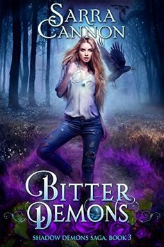 Bitter Demons by Sarra Cannon | reading, books, book covers, cover love, birds