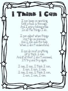 growth mindset poems - Google Search