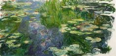 Large classic oil on canvas painting of water lilies. The texture of the brush strokes give this piece added depth. Waterlilies Wall Art By: Claude Monet from Great Big Canvas Canvas Art Prints, Flower Painting, Claude Monet, World Art, Oil On Canvas, Impressionist Paintings, Canvas Art, Monet Water Lilies, Oil Painting Reproductions