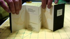 How a flexagon book works