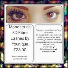 3d fiberlash mascara!! #amazing #longlashes #mascara #loveit  www.youniqueproducts.com/AzaharaMcLaughlin