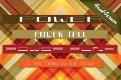 Power Regular. Display Fonts. $39.00