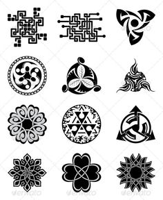 Black Geometric Elements for Design   #GraphicRiver         Black Geometric Elements for Design.  	 Eps 8 + Jpg-file (3149×3847, RGB , 300 dpi).     Created: 7June12 GraphicsFilesIncluded: JPGImage #VectorEPS Layered: No MinimumAdobeCSVersion: CS Tags: bind #black #celtic #circuit #collection #decoration #design #electrical #element #figure #geometric #geometrical #line #logo #logotype #mark #occult #ornament #pattern #scheme #seal #set #sign #stamp #symbol #tattoo #tracery #tribal #vector
