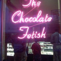 The Chocolate Fetish is located in downtown Asheville, NC. Absolutely amazing Chocolate!!
