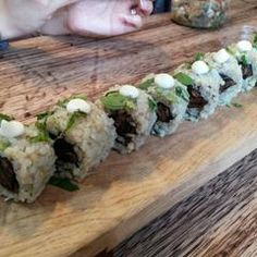 Photo taken at Superfood Sushi by Andrew W. on 6/24/2015