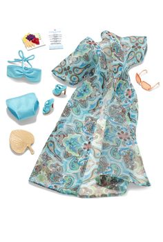 Poolside Barbie Fashion - Barbie Clothes & Fashions For Dolls | Barbie Collector