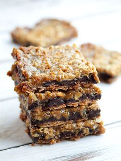 Vegan and Gluten-Free Carmelitas...This dessert is amazing.  Healthier than most desserts.  You have to try them.