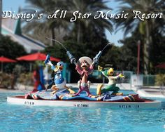 Everything you need to know about Disney's All Star Music Resort, including a room tour!