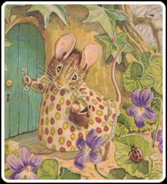 Beatrix Potter Mouse House in The Spring | Content in a Cottage