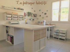 Un jour, un DIY: [BLA BLA #4] L'aménagement de mon atelier couture avec des meubles Ikea