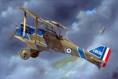 1917 07 SE5a A8936 60 Sqn Billy Bishop - Robert Karr