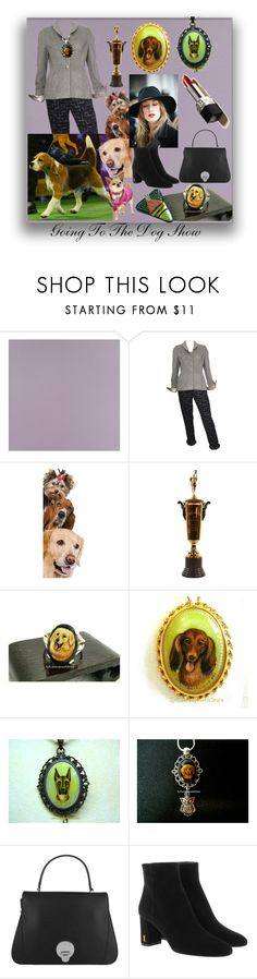 Going To The Dog Show by sylvia-cameojewels on Polyvore featuring Yves Saint Laurent, Abro, Casadeco and UrbanPup