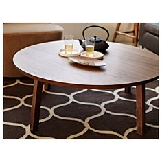 STOCKHOLM Coffee table IKEA easy to hide your mess underneath