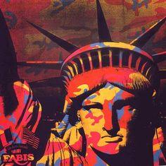 La Liberté, par Andy Warhol - Pop Art