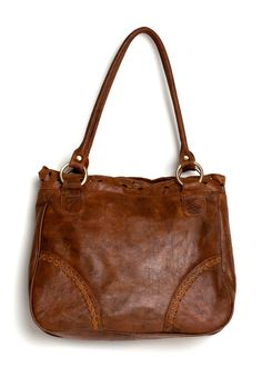 AMICA. Leather shoulder bag / Vintage style bag  / leather tote bag / leather purse / leather handbag. Available in different leather colors on Etsy, $180.00
