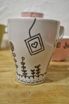 DIY - Idée cadeaux de Noël de dernière minute: les Mugs personnalisés