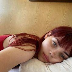 Pelo Color Borgoña, Red Hair Inspo, Icon Girl, Dying My Hair, Aesthetic Hair, Dream Hair, Blonde Highlights, Pretty Hairstyles, Hair Goals