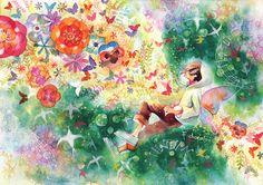春の歌 by 池田 優 | CREATORS BANK http://creatorsbank.com/ikedayu/works/276147