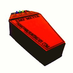 EMF Detector Coffin Shape