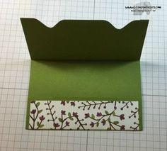 Gift Card Holder 5 - Stamps-N-Lingers