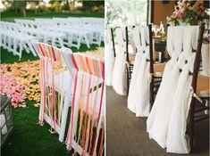 15 idées pour décorer des chaises Wedding Decorations, Table Decorations, Wedding Ideas, Deco Table, Marie, Candles, Flowers, Inspiration, Weeding