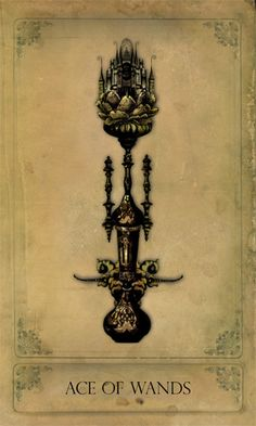 Ace of Wands - Sepia Stains Tarot « Bajemas Web
