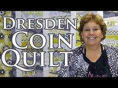 "http://missouriquiltco.com -- Jenny Doan demonstrates how to make a beautiful Dresden Coin Quilt using layer cakes (10"" precut squares). To get the materials..."
