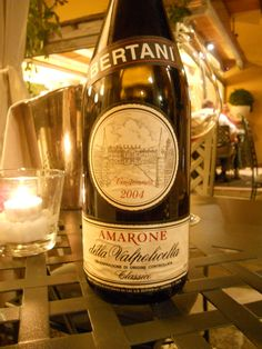 Amarone 2004 from Bertani  This is the most beautiful and authentic Amarone!