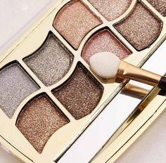 Maquiagem Marca de Maquillaje Paleta de Sombra de ojos 1 UNID Diamante Del Brillo de Sombra de Ojos Paleta de Maquillaje Naked Sombra de Chocolate