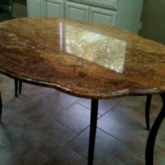 Granite table!