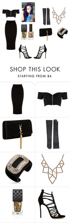 """Red Carpet Galla"" by jaden-norman on Polyvore featuring Warehouse, River Island, Yves Saint Laurent, Roger Vivier, Chicnova Fashion, Gucci and Dsquared2"