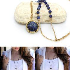 Stunning. #necklace #handmade #gemstone #jewellery #gold #fashion #jewelry #handpickedclub @handpicked_club