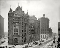 Buffalo, New York (1908) — Erie County Savings Bank, Niagara St.