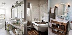 Interior design   Livestyle   Inspirations : Drewniane łazienki