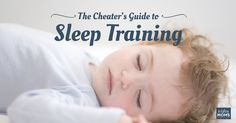 I'm anti-cheater 99.9% of the time...except when it comes to baby sleep training. Here some fast & furious tips to get you both snoozin' ASAP.