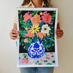 Sketchbook de Josefina Jiménez (@jojimenez) • Florero pintado con acrilico sobre papel de 160 gramos #Arte #Ilustracion #painting Instagram, Painting, Pintura, Art, Sketch, Flower Vases, The Originals, Quotes, Paper Envelopes