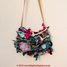 Raggy Multicoloured Gypsy Alternative Hippy by RagsForGypsies