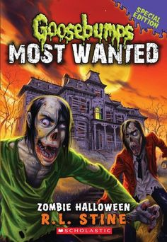 Buy Goosebumps Most Wanted Special Edition: Zombie Halloween by Rl Stine at Mighty Ape NZ. Everyone at Kenny Abbott's new school is going zombie crazy. Kenny's new friend Alec is the most obsessed of all - he believes Zombies are real and m. Halloween Books, Halloween Themes, Spooky Halloween, Book 1, The Book, Evil Dead, New Neighbors, New Kids, Tattoo Ideas