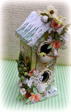Solange Marques: Bird house -Tresors de Luxe