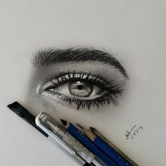 Drawing pencil by waleed_art