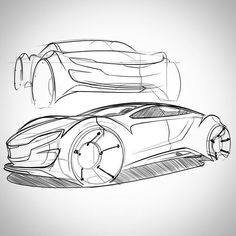WEBSTA @ fajnemisio - WIP, perspective be no good on upper view. Will apply shading soon. Must sleep now. #cardesign #transportationdesign #freehand #design #sketch #sketching #passion #cars #professional #love #industrialdesign #sketching #love #transportation